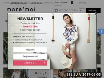 Zrzut strony Moda