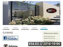 Miniaturka domeny www.siatkiogrodzeniowe.pl