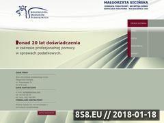 Miniaturka sicinska.com (Doradztwo podatkowe)