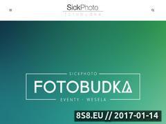 Miniaturka sickphoto.pl (Wynajem fotobudki na wesele)