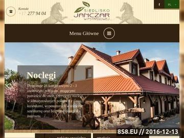 Zrzut strony Siedlisko Janczar - Hotel, Restauracja, Stadnina koni, Imprezy okolicznościowe, Wypoczynek, Agroturystyka