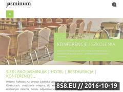 Miniaturka domeny siedliskojasminum.pl