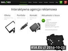 Miniaturka domeny sigmeo.pl