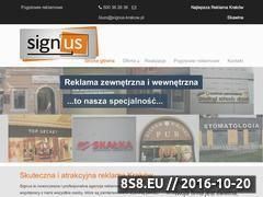 Miniaturka domeny www.signuskrakow.pl