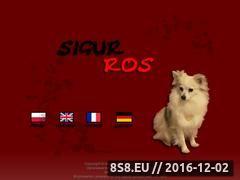 Miniaturka domeny www.sigurros.pl