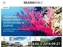 Miniaturka silesiasmile.pl (Reklama firm w gazecie)