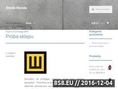 Miniaturka domeny www.silnikihonda.pl