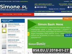 Miniaturka simone.pl (Gniazdka Simon 54)