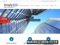 Miniaturka domeny www.simplytax.pl