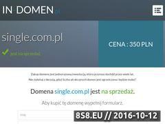 Miniaturka domeny www.single.com.pl