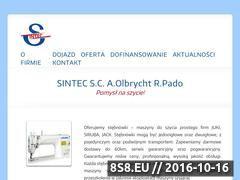Miniaturka domeny sintec-maszyny.pl