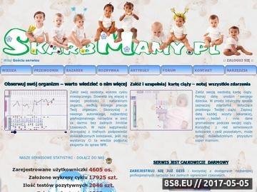 Zrzut strony SkarbMamy serwis dla kobiet