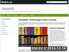 Miniaturka domeny skarpetki.webm.pl