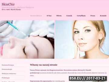 Zrzut strony SkinChir - Dermatochirurgia i Medycyna Estetyczna Katowice