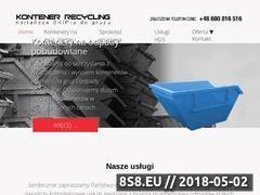 Miniaturka domeny skip-recycling.pl