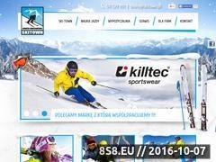 Miniaturka skitown.pl (Szkoła narciarska Szczyrk)