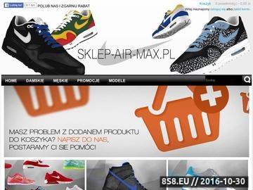 Zrzut strony Buty Nike Air Max - damskie i męskie