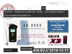 Miniaturka domeny sklep-alkomaty.pl