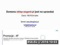 Miniaturka domeny sklep-asgard.pl