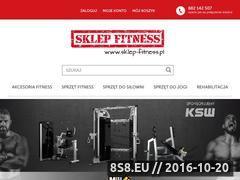Miniaturka domeny sklep-fitness.pl