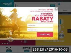 Miniaturka domeny sklep-presto.pl