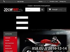 Miniaturka sklep.2befast.pl (Akcesoria motocyklowe, crash pady i szyby)