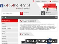 Miniaturka sklep.4hokery.pl (Meble tapicerowane pod indywidualne zamówienie)