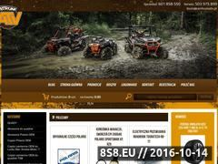 Miniaturka domeny www.sklep.centrumatv.pl