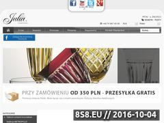 Miniaturka domeny www.sklep.crystaljulia.com