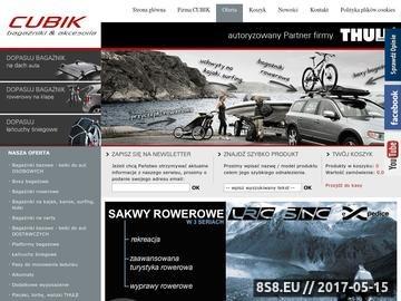 Zrzut strony Bagażniki rowerowe THULE XPRES, boxy