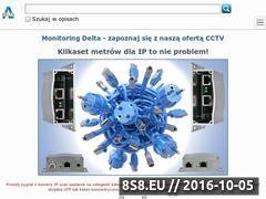Miniaturka Monitoring, CCTV, alarmy i kamery przemysłowe (sklep.delta.poznan.pl)