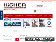 Miniaturka domeny sklep.drabiny.info