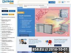 Miniaturka domeny sklep.eltron.pl