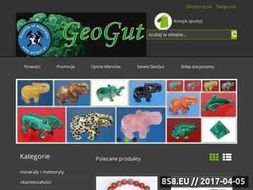 Zrzut strony Sklep GeoGut - minerały, skamieniałości