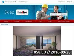 Miniaturka sklep.haiko.pl (Części zamienne do bram i doków przeładunkowych)