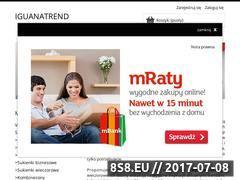 Miniaturka domeny sklep.iguanatrend.pl