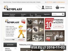 Miniaturka domeny sklep.kemplast.pl