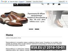 Miniaturka domeny sklep.klasycznebuty.pl