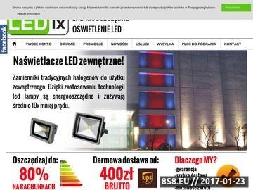 Zrzut strony Oświetlenie led - taśmy led Poznań - Sklep Ledix24