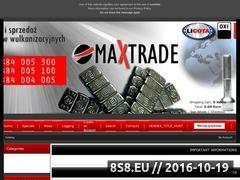 Miniaturka domeny sklep.max-trade.pl