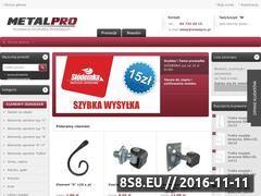 Miniaturka sklep.metalpro.pl (Elementy kute)