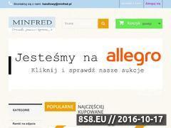 Miniaturka domeny www.sklep.minfred.pl