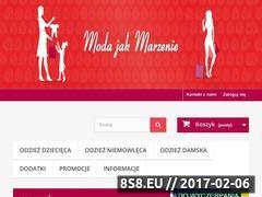 Miniaturka domeny sklep.modajakmarzenie.pl
