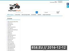 Miniaturka domeny sklep.motorfun.pl