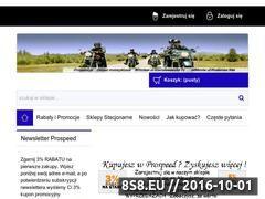 Miniaturka domeny sklep.prospeed.pl