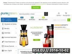 Miniaturka domeny sklep.puregreen.pl
