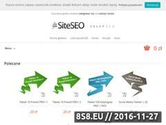 Miniaturka domeny sklep.siteseo.pl