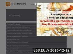 Miniaturka domeny sklep.targetmarketing.pl
