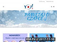 Miniaturka sklep.yoclub.pl (Ubranka dla dzieci)