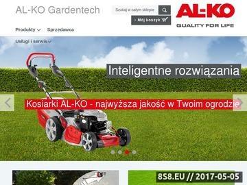 Zrzut strony AL-KO Kober - Traktorki
